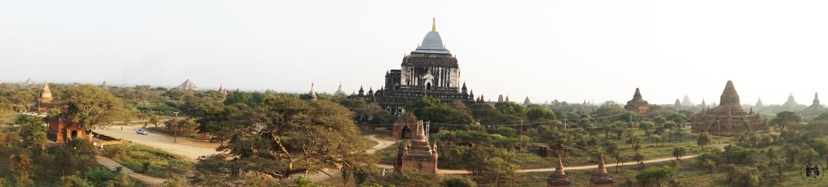 2018 緬甸三城一湖之旅 - 蒲甘日落