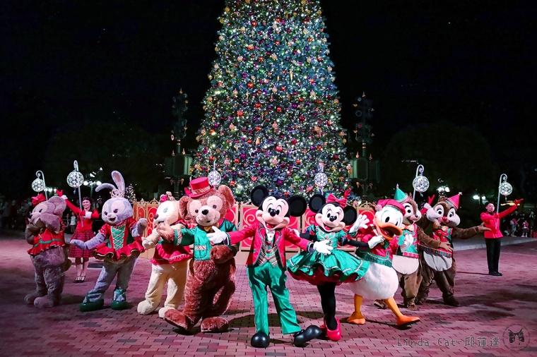 香港迪士尼樂園 2018聖誕開始飄雪啦