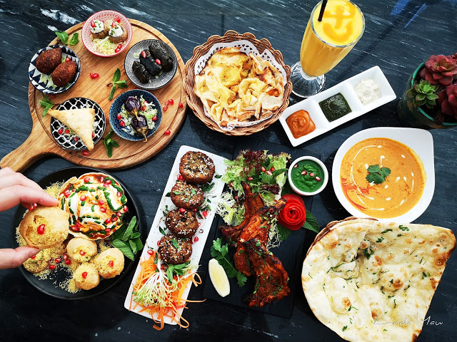 Carat Fine Indian and Mediterranean Cuisine food