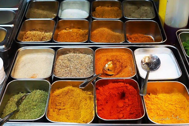 Carat Fine Indian and Mediterranean Cuisine food spices
